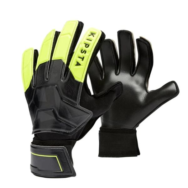 Kipsta Adult Football Goalkeeper Gloves F100 Resist